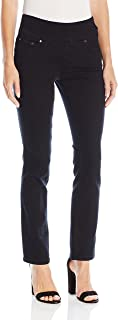 Jag Jeans Women's Petite Peri Pull On Straight Leg Jean...