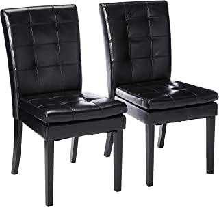 faux leather dining chairs grey