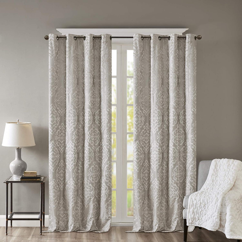 SunSmart Mirage 100% Total Blackout unisex Knitt Single Curtain Bargain Window