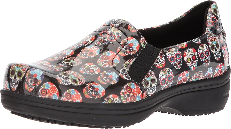 Daily bargain Phoenix Mall sale Easy Works Women's Bind Health Care Pat Professional Shoe Skull
