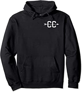 Cross Country CC Arrow Logo Graphic Symbol Pullover Hoodie