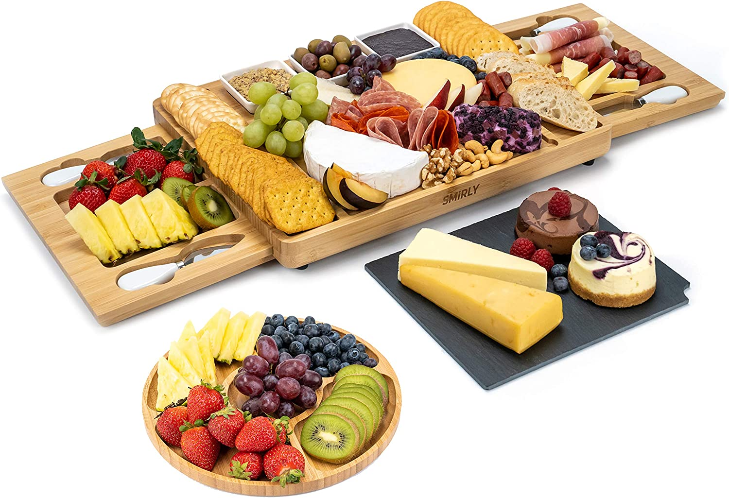 We OFFer at cheap prices SMIRLY Cheese Board and Knife Large Charcuterie Fixed price for sale Set: Set