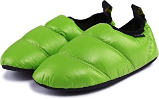 KingCamp Unisex Warm Soft Camping Slippers Slip Resistant Rubber Sole & Carry Bag (6 Colors)