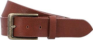 Gusti - Cintura in pelle da uomo, in vera pelle, colore: marrone