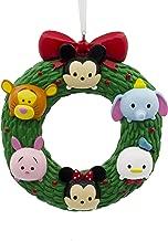 Hallmark Christmas Ornament Disney Tsum Wreath, Mickey Minnie Mouse Winnie The Pooh Donald Duck Dumbo Tigger Piglet