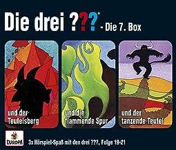 Die drei ??? Box 07. Folgen 19-21 (drei Fragezeichen) 3 CDs: Die drei ??? und der Teufelsberg / ... und die flammende Spur...