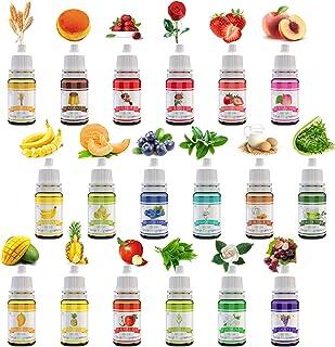18 Huile Parfum Savon - Fragrance pour Savon, Parfums Liquide pour la Fabrication Bombes de Bain, Fabrication Savon, Brico...
