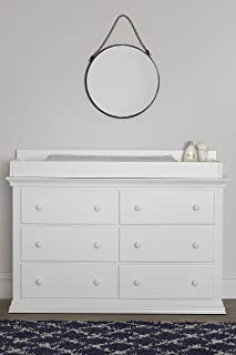 Suite Bebe Brooklyn 6 Drawer Double Dresser, White