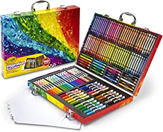 Crayola Inspiration Art Case Coloring Set, Gift for Kids,...