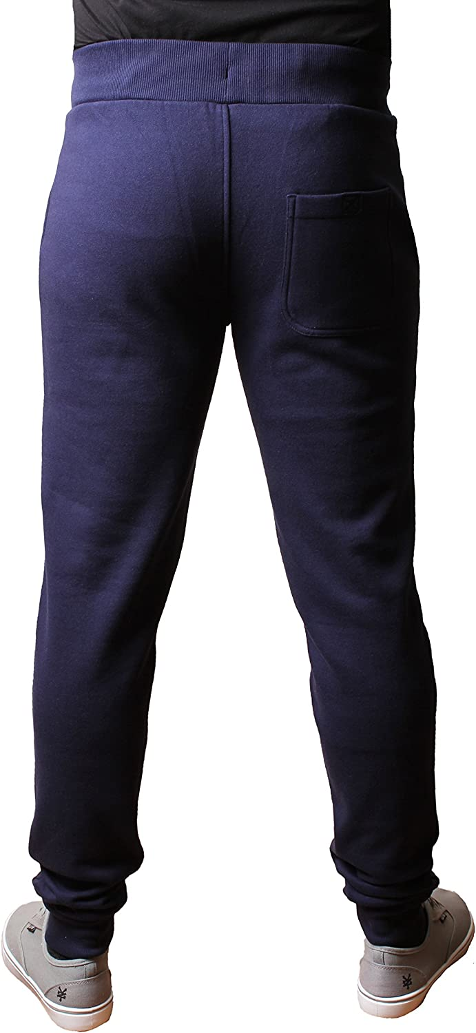 Fly53 Mens Fleece Fitted Tracksuit Bottoms Joggers Sweat Pants Temple Elliot