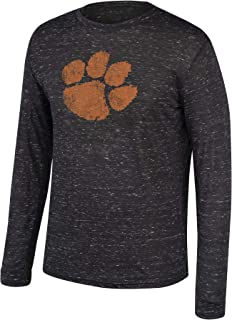 NCAA Men's Dark Heather Heritage Tri-Blend Long Sleeve Tee