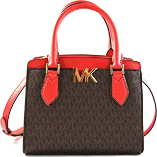 Michael Kors Women's Mott Medium Messenger Convertible Crossbody Bag Purse Handbag