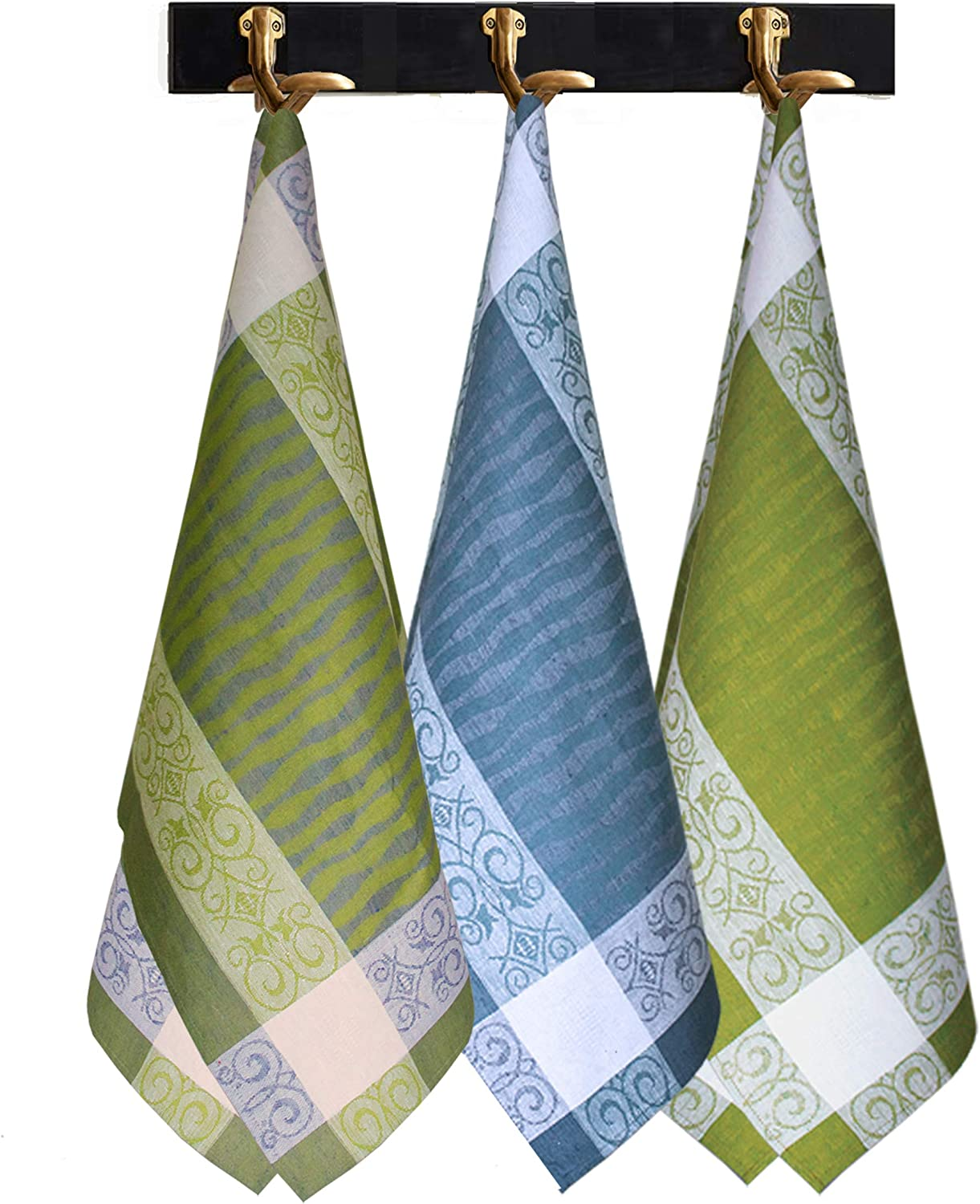 Armani International Manifica Tea Towels Set - 3 in of Crafted Very popular Max 68% OFF