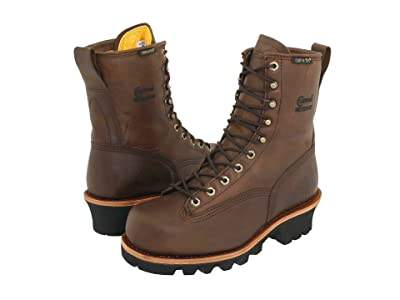 Chippewa 8 Bay Apache Insulated Waterproof Steel Toe Logger (Brown) Men