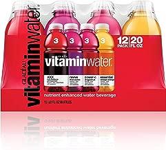 vitaminwater variety pack nutrient enhanced water w/ vitamins, 20 Fl. Oz, 12 Pack,