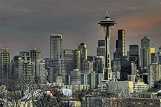 Jigsaw Puzzles 1000 Pieces For Adults, Seattle Skyline Educational Games, Brain Challenge Puzzle
