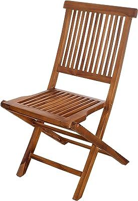 MACABANE 509002 Set de 2 Chaise, Gris, 67 x 104 x 48 cm, Lot