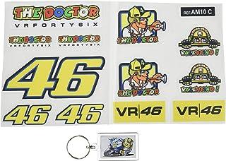 6X2.3 cm Fd122 Aufkleber Autocollants Adesivi Moto Decals Motorcycle Ecoshirt M6-AOJ9-2SLJ Pegatinas Stickers Dog Perro Valentino Rossi Ref