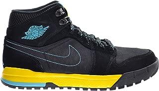 Jordan Air 1 Trek Men's Boots Black/Gamma Blue-Varsity Maize 616344-089