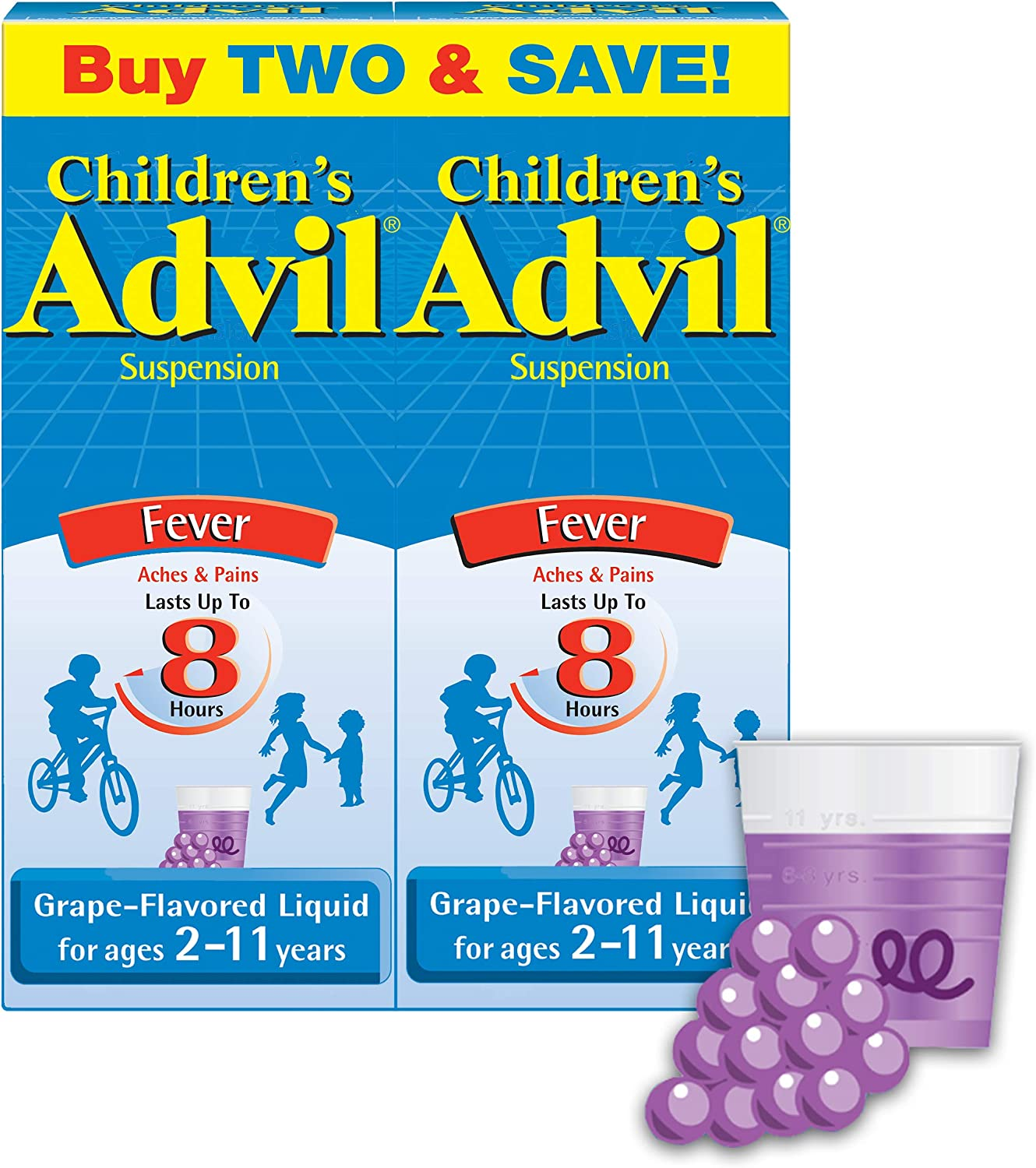 Children's supreme Some reservation Advil Fever Reducer Pain 100mg G Reliever Ibuprofen