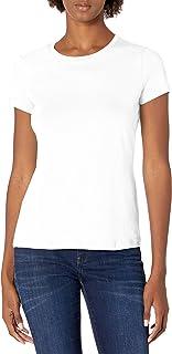 Nautica womens Nautica Women's Classic Fit Crew-Neck J-Class T-Shirt T-Shirt