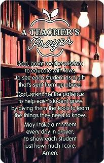 Teacher's Prayer Cardstock Pocket Card Pack of 12