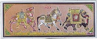 India Souvenir Fridge Magnet-Elephant,Horse and Camel, Perfect Souvenir for Gifting
