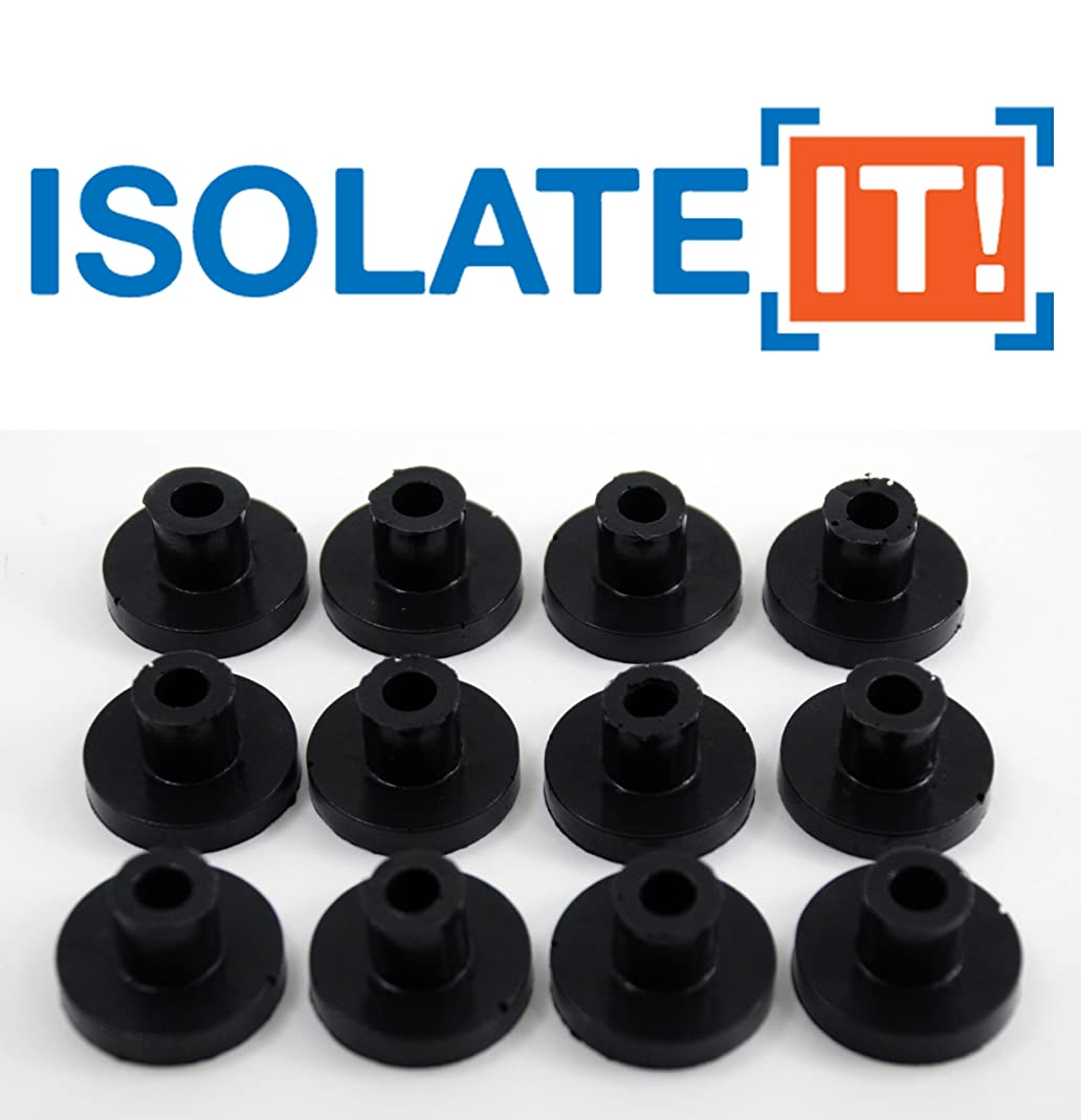 Isolate It: Sorbothane Vibration Isolation Bushing 30 Duro (.25