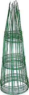 Glamos 220500 10-Pack Blazing Gemz Plant Support, 12 by 33-Inch, Emerald Green
