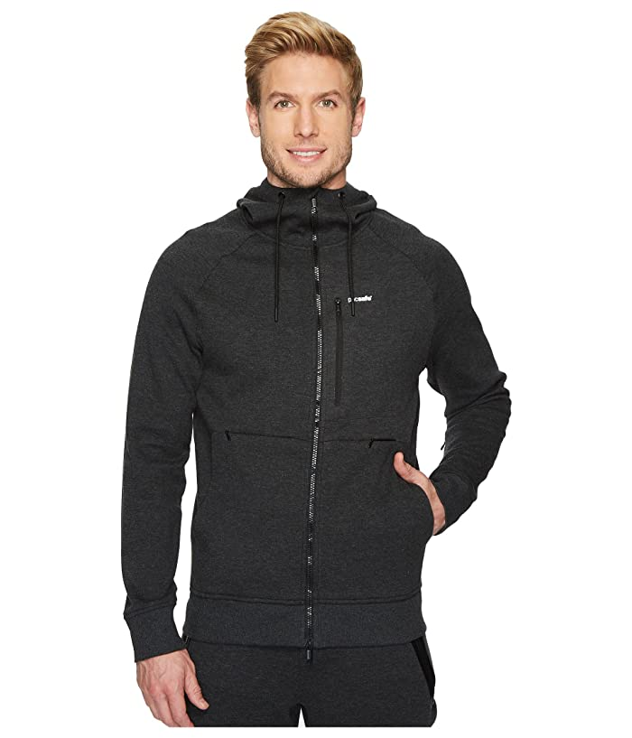 Pacsafe Transit Hoodie (Heather Charcoal) Men