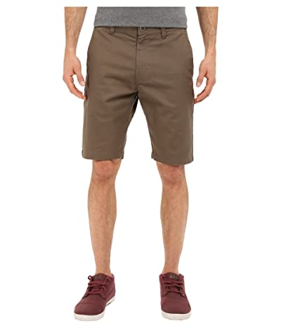Volcom Frickin Modern Stretch Chino Shorts (Mushroom) Men