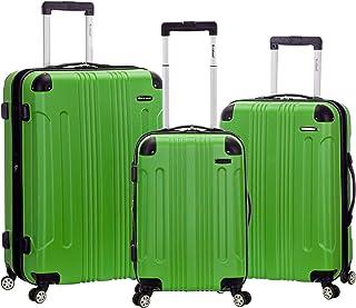 Rockland Luggage Juego de 3 piezas de equipaje vertical sónico, Verde, Una talla