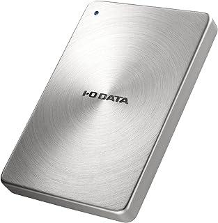 I-O DATA HDD ポータブルハードディスク 2TB USB3.1Gen1/Type-C対応 全面アルミボディ 日本製 HDPX-UTC2S