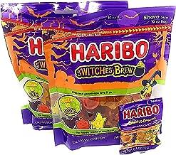 Haribo Halloween New S'witches' Brew Gummi Candy (20 Oz w/ Bonus Pack)