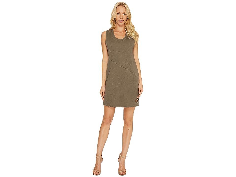 Lanston Cut Out Mini Dress (Army) Women