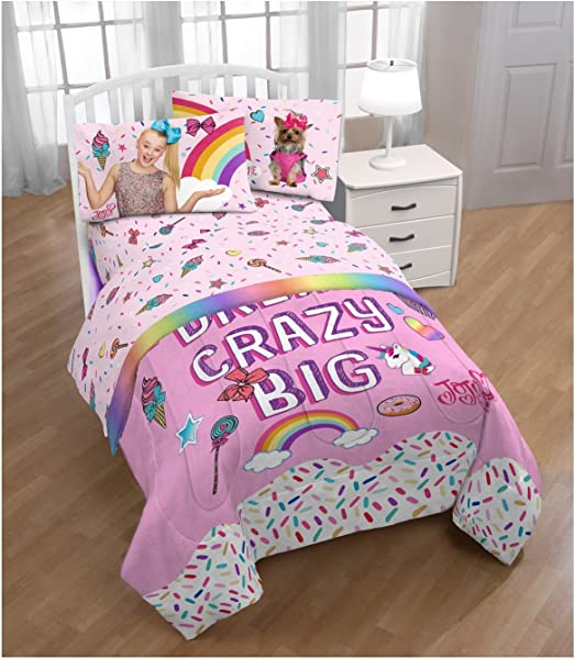 Franco JoJo Siwa Full Comforter And Sheet Set