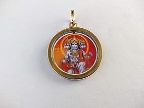 Finaldeals Shree Hanuman Panchmuckhi Yantra Mantra Pendant Shri Hanuman Panchmukhi Raksha Kawach Yantram Locket Hanuman Ra...