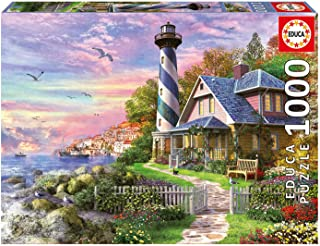 Educa 177401000Lighthouse In Rock Bay