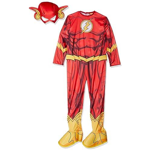 Dexlue The Flash   DC Comics   Childrens Fancy Dress Costume