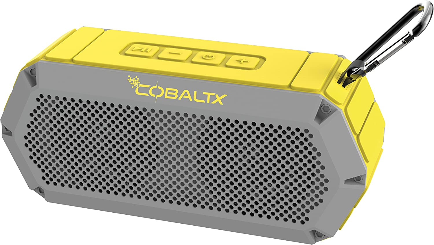 COBALTX Indefinitely Tank Rugged Waterproof Bluetooth Rated Speaker Our shop OFFers the best service blue iPX7