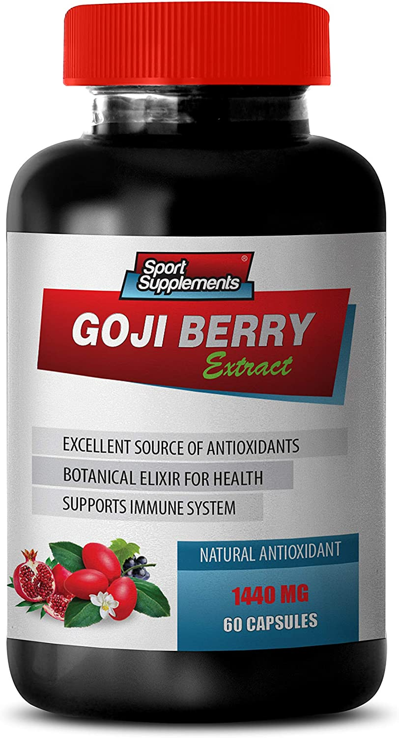 Max 63% Large discharge sale OFF antioxidant Formula Supplement - Goji Berry Complex Extract Na
