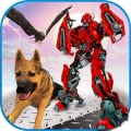 Multi Robot Transforming Game Robo Animal Cop Dog