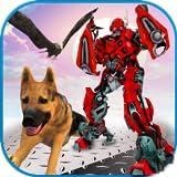 Multi Robot Transforming Game Robo Animal Cop Dog