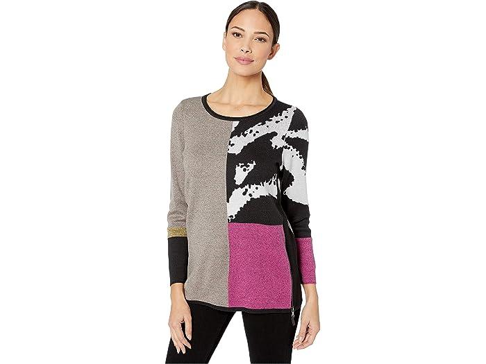 Nic+zoe Block It Off Sweater