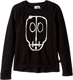 Nununu - Skull Mask Patch Light Knit (Little Kids/Big Kids)