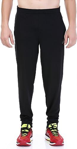 ASICS Hommes's Pantalon de survêteHommest Noir Noir