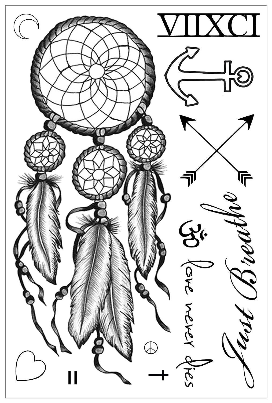 Miley Cyrus Max Columbus Mall 57% OFF Inspired Sheet Temporary Tattoos