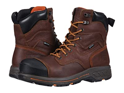Timberland PRO Helix HD 8 EH Safety Toe WP (Red/Brown) Men