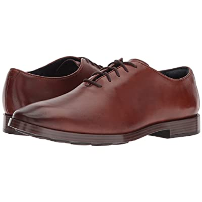 Cole Haan Jefferson Grand Wholecut Ox (British Tan) Men