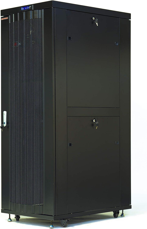 Server Rack 32U Network Enclosure Data Cabinet 32
